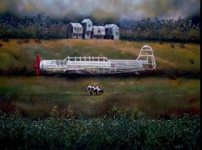 Airplane by Piedrahita