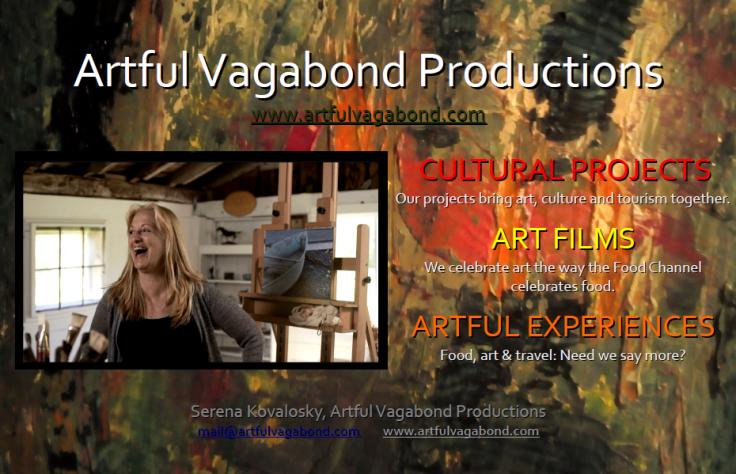 Artful Vagabond Ad