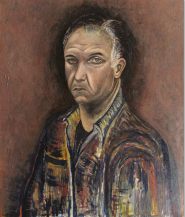 Portrait of a Man by Kezerashvili