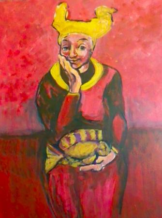 """Fish Queen"" by Eva Lewarne. Copyright © Eva Lewarne"