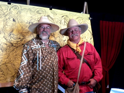 Rick Hunt and Ernie Sites