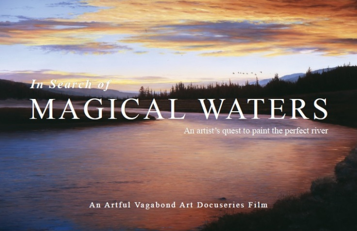 Artful Vagabond Magical Waters for Website Campaign