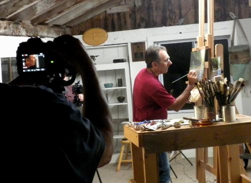 Filming Adriano1 - Artful Vagabond-web